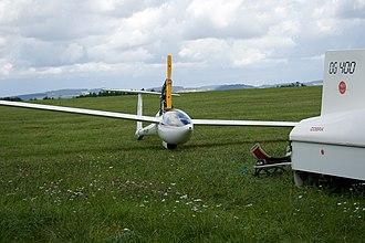 Glaser-Dirks DG-400 - Image: Dg 400 from Zwolle, Holland (985521774)