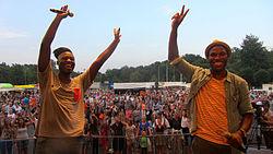 Die Herren Simple bei ihrem Auftritt bei der NDR Sommertour 2014 in Bad Oldesloe