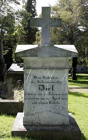 Adrian Diel - Diel Memorial in the old cemetery of Diez