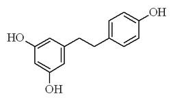 Chemical structure of dihydro-resveratrol