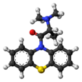 Dimethylaminopropionylphenothiazine 3D ball.png