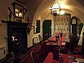 Dining room at Llanthony Priory hotel - geograph.org.uk - 1767747.jpg