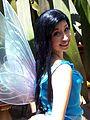 Disneyland Pixie Hollow Silvermist shows her wings.jpg