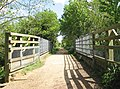 Disused railway bridge over Cawston Road - geograph.org.uk - 1293272.jpg