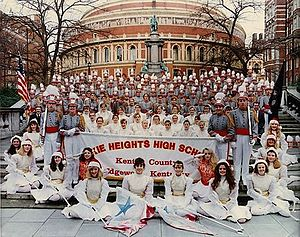 London's New Year's Day Parade - Dixie Heights High School Marching