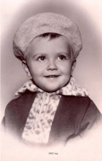 Dmitry Medvedev - Dmitry Medvedev in 1967, approximately 2 years old
