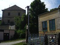 Dobrovice - fara z ulice Kateřinská (1).JPG