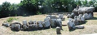 Archaeology of the Channel Islands - Dolmen La Pouquelaye de Faldouet Jersey
