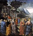Domenico ghirlandaio, chiamata degli apostoli 02.jpg