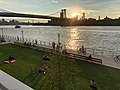 Domino Park, Brooklyn - Early Evening View - Sunset.jpg