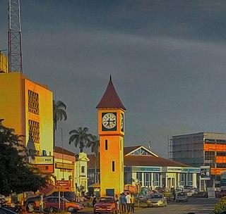 Kumasi City in Ashanti, Ghana