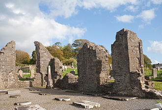 Siege of Donegal - Donegal Abbey.