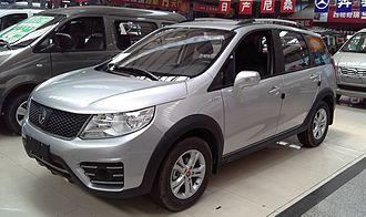 Dongfeng Fengxing Jingyi X3 - Image: Dongfeng Fengxing Jingyi X3 01 China 2014 04 16