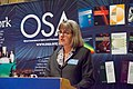 Donna Strickland speaking at OSA's Leadership meeting in 2013.jpg
