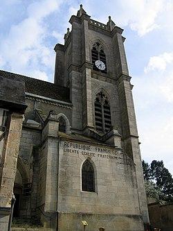 Donzy - le clocher de l'église.JPG