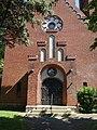 Dorfkirche Neuenhagen (Neumark) 2018 Portal NW.jpg