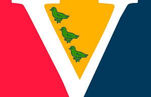 Vogelenzang - Image: Dorpsvlag Vogelenzang (Noord Holland)