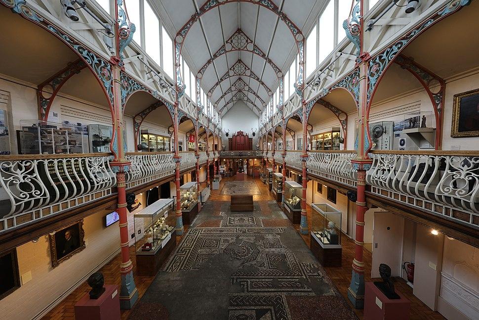 Dorset County Museum victorian gallery