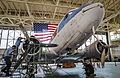Douglas C-47 under restoration at the Pacific Aviation Museum 2013.JPG