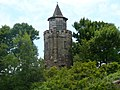 Dove-Cote or other name of Hennery Boldt Castle, Heart Island, New York.jpg