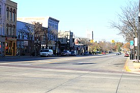 Downtown Howell Michigan Grand River Avenue at Michigan Ave.JPG