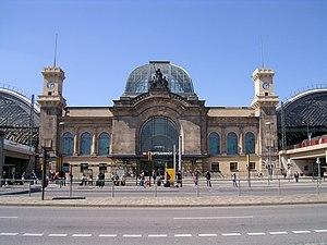 Estación Central de Dresde - Wikipedia, la enciclopedia libre