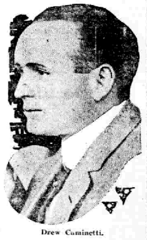 Farley Drew Caminetti - Image: Drew Caminetti newspaper photo