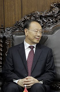 Du Qinglin Chinese politician