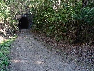 Dularcha National Park - Rail tunnel, Dularcha National Park, May 2017