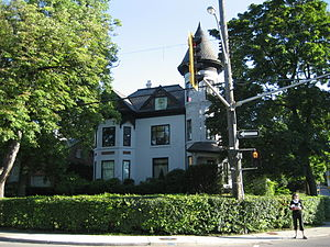 Queen Street (Hamilton, Ontario) - Durand neighbourhood, Queen Street South