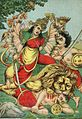 Durga Mahishasura-mardini, the slayer of the buffalo demon.jpg