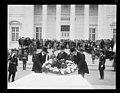 Dwight Davis, Calvin Coolidge, and Curtis D. Wilbur laying wreath on Tomb of Unknown Soldier, Arlington National Cemetery, Arlington, Virginia LCCN2016893880.jpg