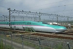 Piston effect - Image: E5 S11 Sendai 20090725