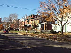 National Register of Historic Places listings in Monroe County, Michigan - Image: E Elm Macomb
