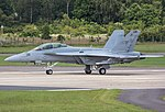 EGLF - Boeing F A-18F Super Hornet - US Navy - 166790 (43930505921).jpg