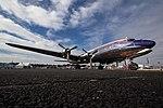EGSC - Douglas DC-6B - OE-LDM (42857863044).jpg