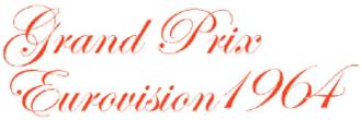 Eurovision Song Contest 1964 - Image: ESC 1964 logo