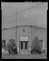 EXTERIOR ENTRYWAY - Farmers' and Stockgrowers' Bank, Broadway and Main Streets, Montour, Gem County, ID HABS ID,23-MONT,4-5.tif