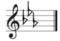 E flat major treble clef.png