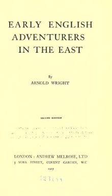 Early English adventurers in the East (1917).djvu