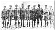 Early aviators at Pensacola, Florida, 1914