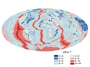 Earth's internal heat budget - Image: Earth heat flow