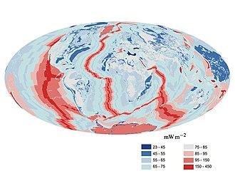 Earth's internal heat budget - Image: Earth heat flow