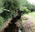 East Brook below St Cadoc's Avenue, Dinas Powys - geograph.org.uk - 5069741.jpg