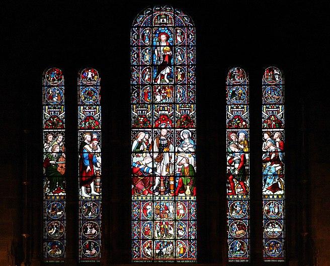 East window of St John's Church, Chester.jpg