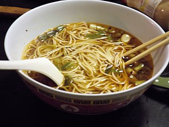 Shanghai cuisine - Image: Easy Soy Sauce Noodles 陽春麵