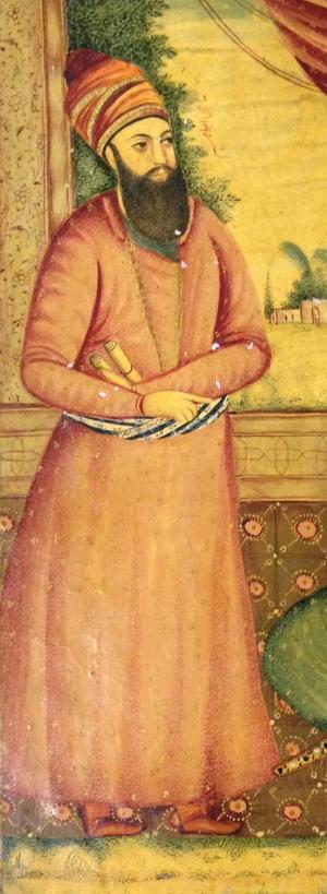 Hajji Ebrahim Shirazi - Portrait of Ebrahim Khan Kalantar.