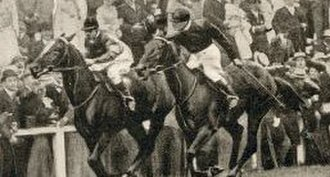 Ard Patrick - The finish of the 1903 Eclipse Stakes: Ard Patrick beats Sceptre