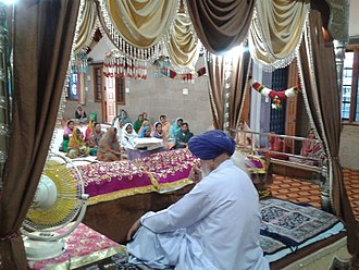Sukhmani Sahib - Sukhmani Sahib being recited as a group at Gurdwara Ameerpet Hyderabad