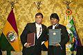 Ecuador y Bolivia firman convenios en Quito (9735475531).jpg
